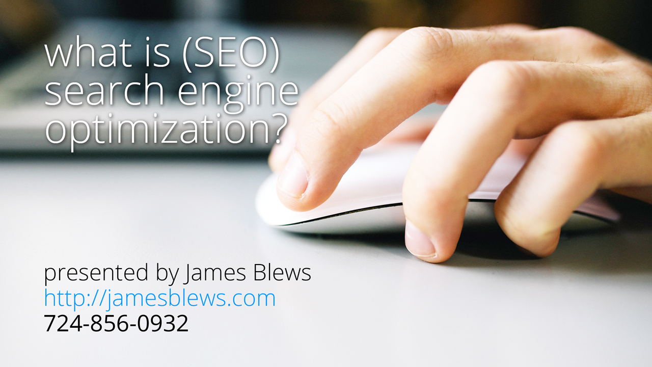 SEO and Search Engine Marketing