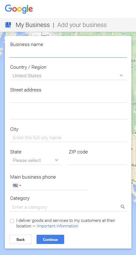Claim your business on Google Business for better local SEO